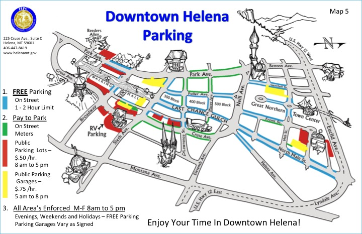 Downtown-HLN-Map